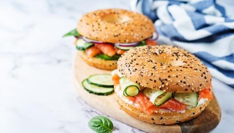 Plateaux repas Burger ou Bagel | Entreprises & Particuliers | Grandsire traiteur